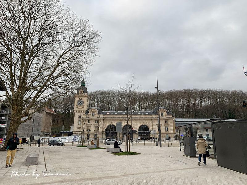 バイヨンヌの鉄道駅