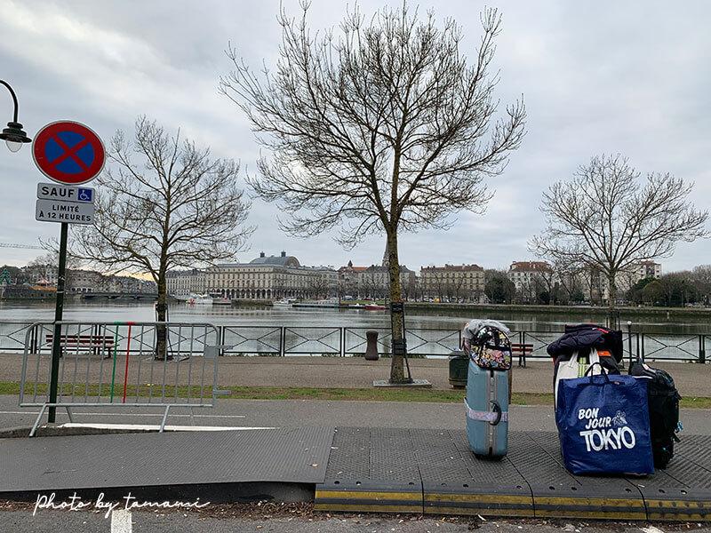 バイヨンヌの格安バス停留所