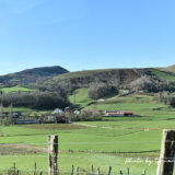 バスク地方サン=ジャン=ピエ=ド=ポーまでの風景