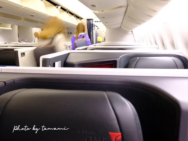 デルタ航空ビジネスクラス デルタ・ワン スイート搭乗体験記