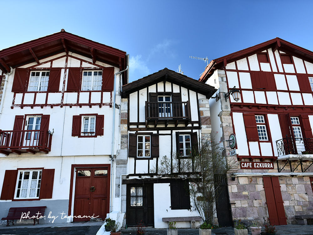フランスのバスク地方 アイノア