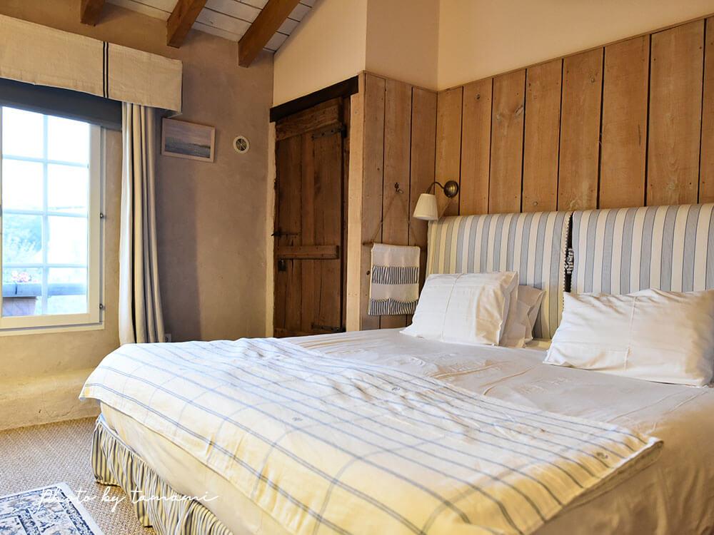 フランスのバスク地方 ビダールで宿泊したホテル
