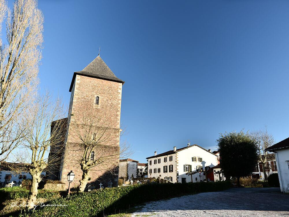 フランスバスク地方の美しい村 サール