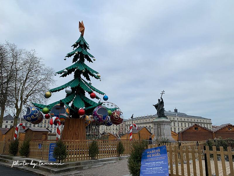 バイヨンヌの街歩き - クリスマスシーズン