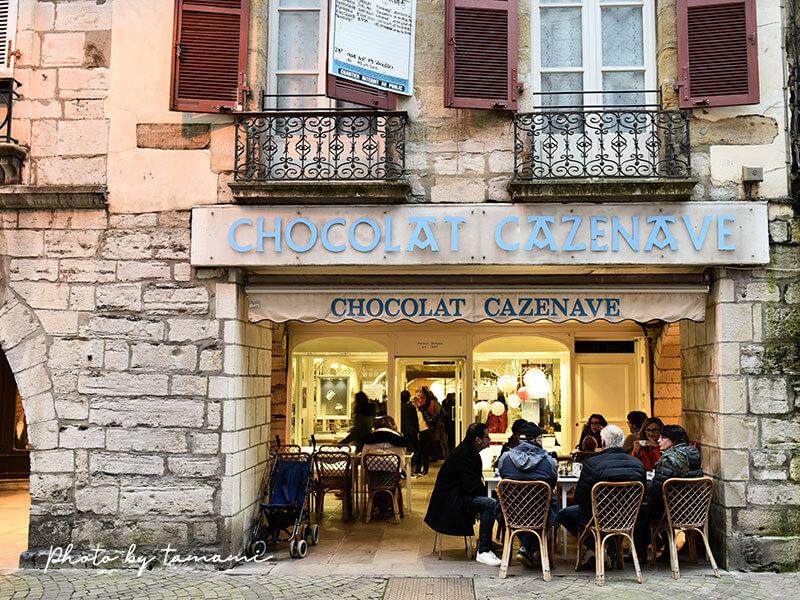 ショコラ・カズナーヴ Chocolat Cazenave