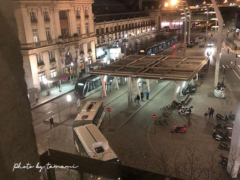 ボルドー駅前にあるホテル ibis Bordeaux Centre Gare Saint Jean Euratlantique