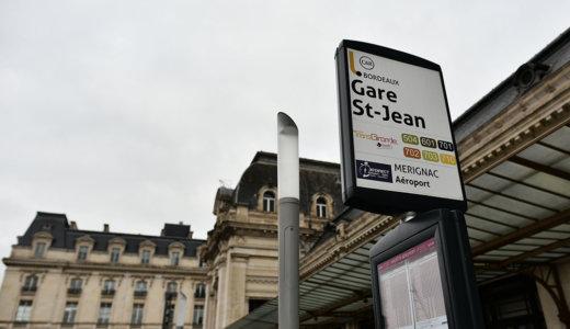 ボルドー・サンジャン駅前(Bordeaux Gare Saint-Jean)からボルドー・メリニャック空港へのアクセスは空港バスが便利!