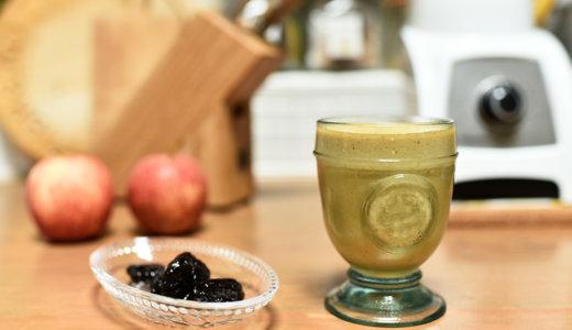 便秘解消して美肌効果に!5分でできる1日の始まりに飲みたいスムージーレシピ【プルーンと豆乳】