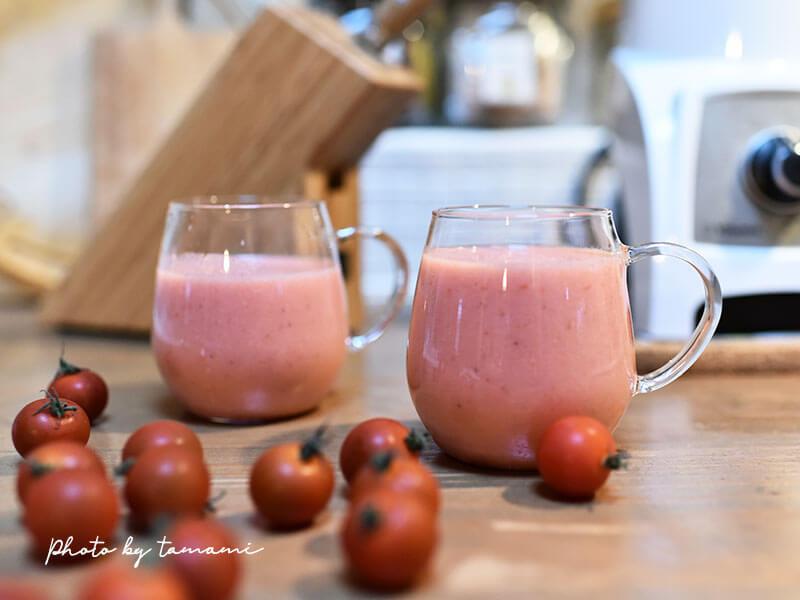 美肌効果に!苺とトマトのスムージレシピ