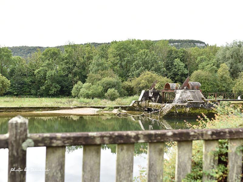 ブルゴーニュ地方の美しい村ペスム(Pesmes)