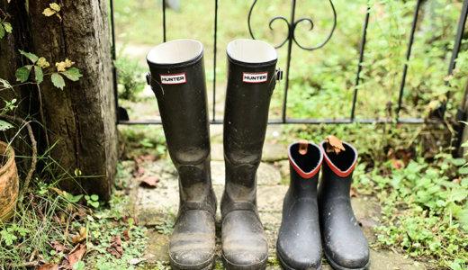 ガーデニング用ブーツ&長靴の選び方。履き古しても雰囲気がよく味が出るブーツ【HUNTER】と【AIGLE】を紹介!