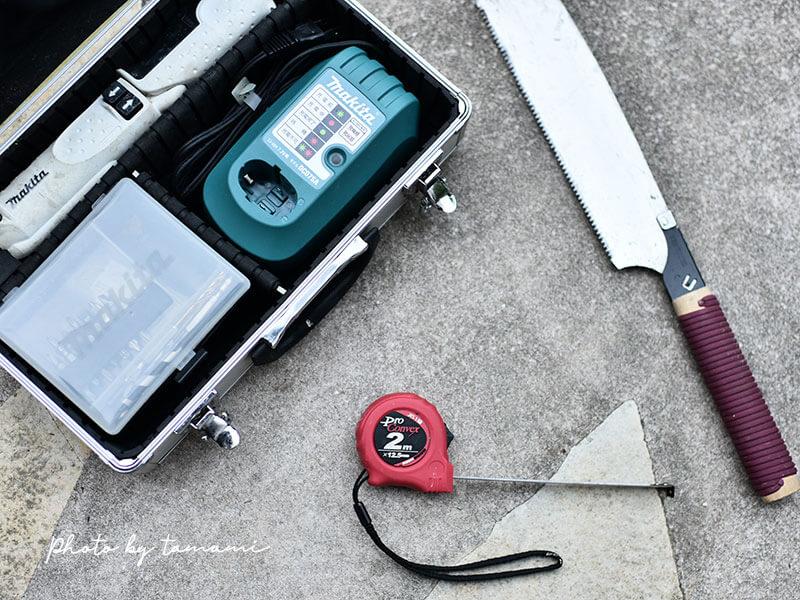 初めてのDIYにおすすめの3つの必須道具