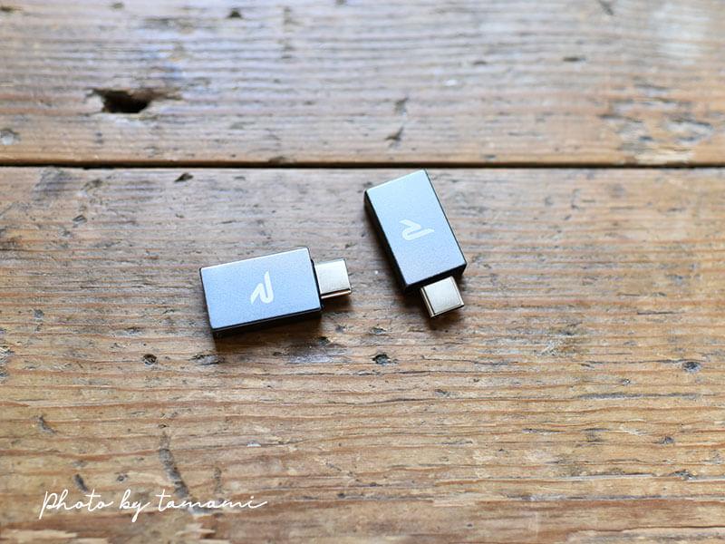 MacbookPro 2019で使うUSB-CとUSB-A変換アダプタ