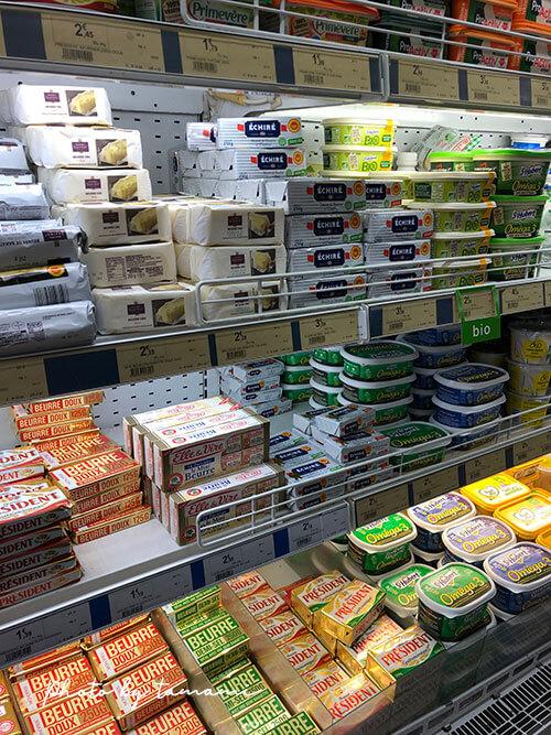 フランスでバターを買うときのポイント