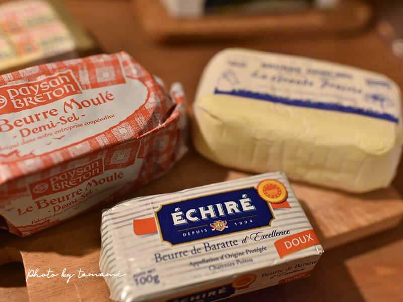 フランスのおすすめのバター