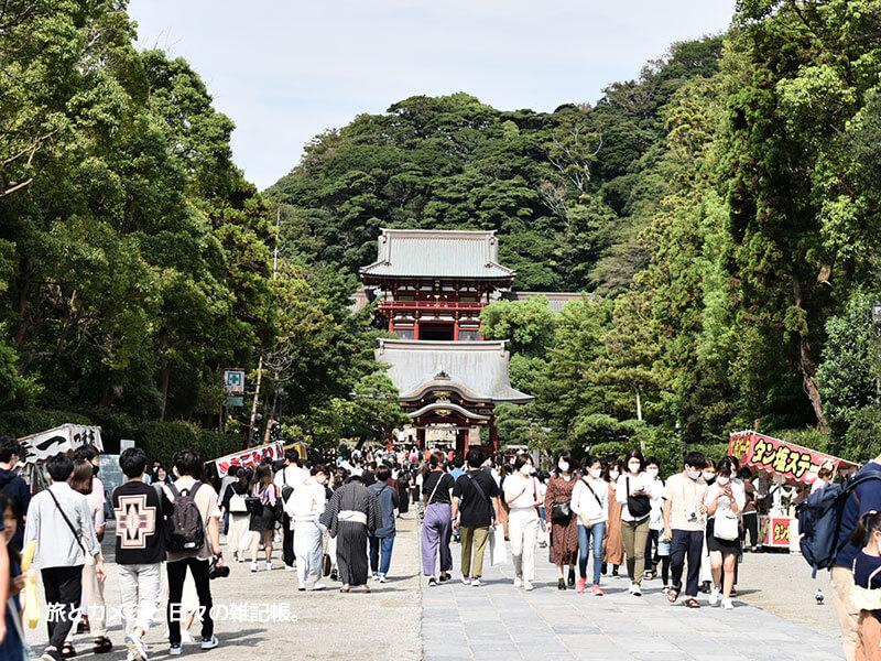 鎌倉定番の鶴岡八幡宮散策