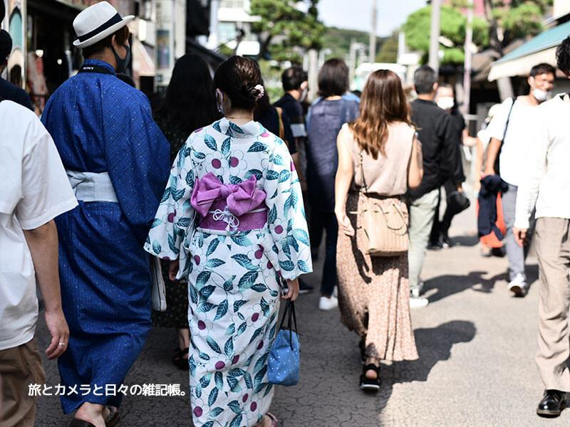 鎌倉定番の観光小町通り