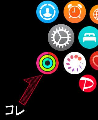 Apple Watchのアクティビティの使い方