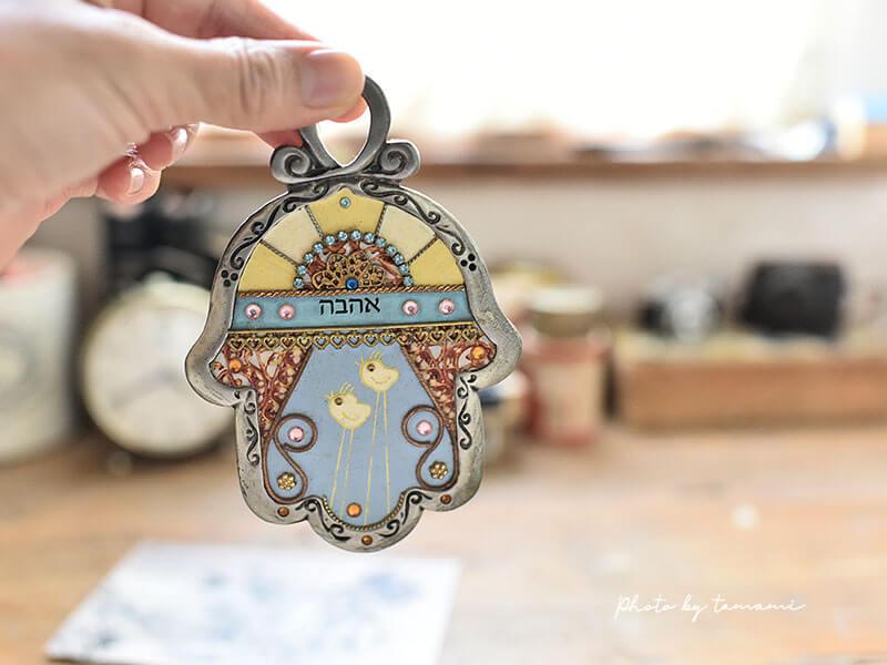 イスラエルのお守り&お土産ハムサ(Hamsa)