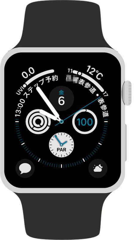 Apple Watchのコンプリケーションとは?
