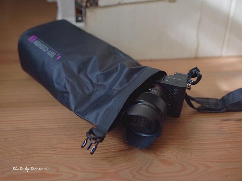 ミラーレスカメラ用のカメラバッグを探していてHAKUBAの防水ポーチを選んだ理由