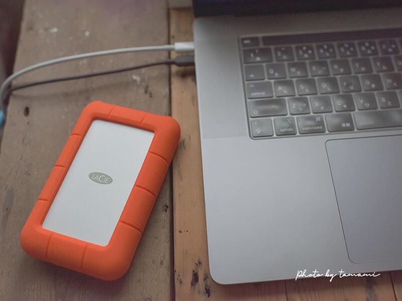 おすすめのHDD ポータブルハードディスク 5TB