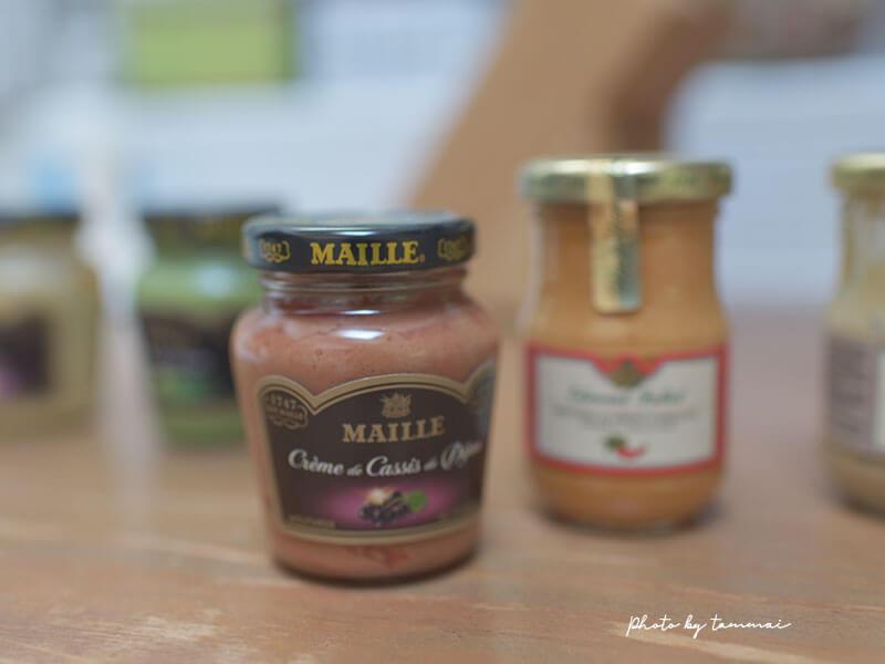 フランスディジョンのMilleやFolletで買ったマスタード
